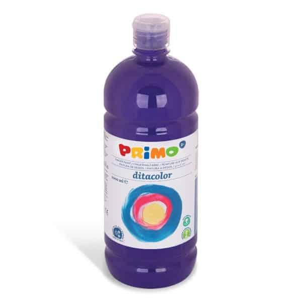 Prstová barva PRIMO 1000ml, fialová (č. barvy 400)