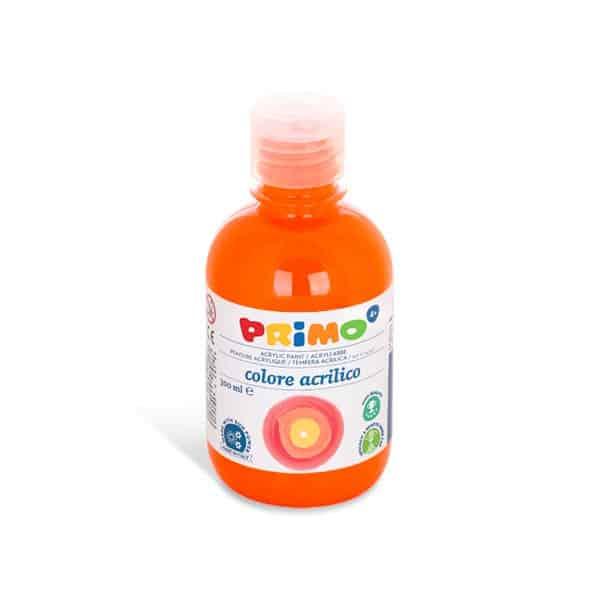 Akrylová barva Primo 300ml,oranžová