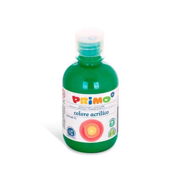 Akrylová barva Primo 300ml, tm. zelená