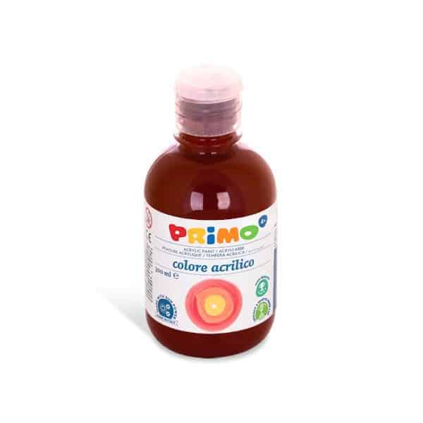 Akrylová barva PRIMO 300 ml, hnědá umbra přírodní