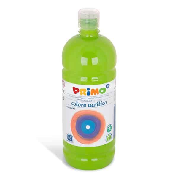 Akrylová barva PRIMO 1000ml, sv. zelená (č. barvy 600)
