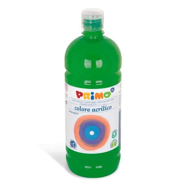 Akrylová barva PRIMO 1000ml, tm. zelená (č. barvy 630)