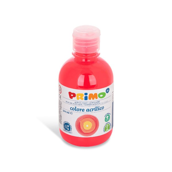Akrylová barva PRIMO 300 ml, FLUO, oranžová (č. barvy 250)
