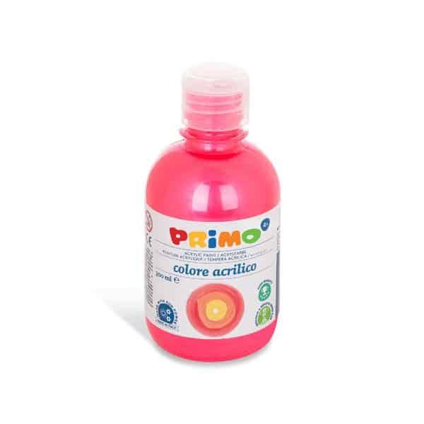 Akrylová barva PRIMO METALLIC, 300ml, červená (č. barvy 300)