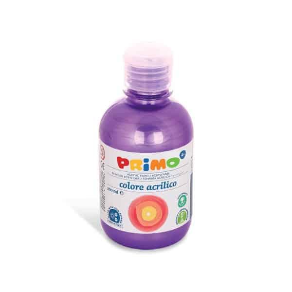 Akrylová barva PRIMO METALLIC, 300ml, fialová (č. barvy 400)