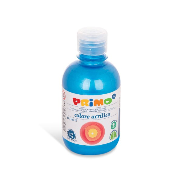 Akrylová barva PRIMO METALLIC, 300ml, modrá (č. barvy 501)