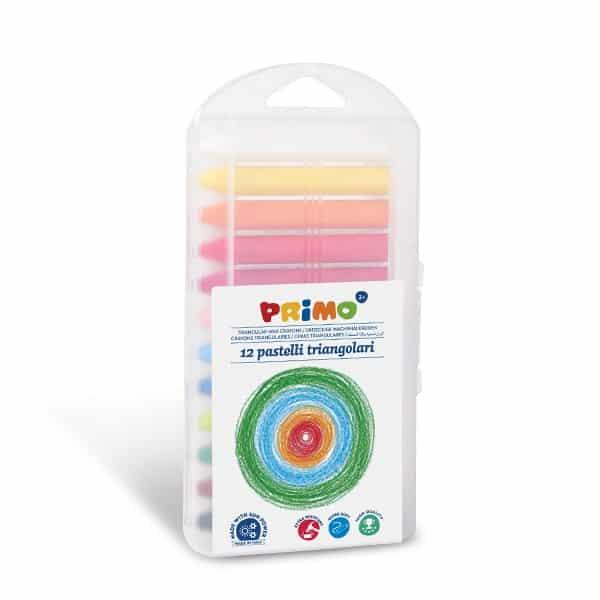Trojboké voskovky PRIMO SUPERSOFT, 12 x 85mm