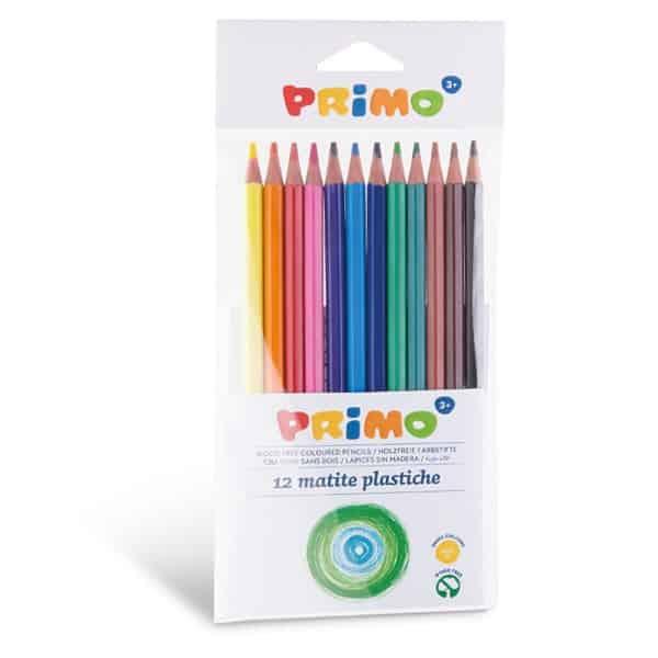 Pastelky plastové PRIMO, 12ks