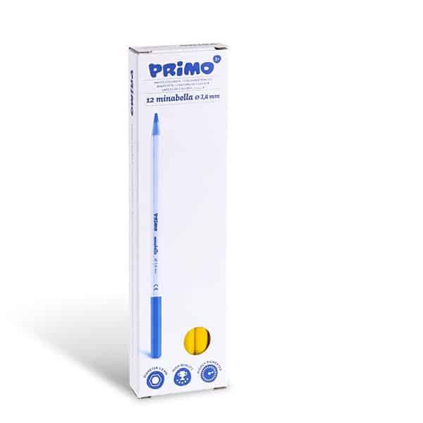Pastelka PRIMO MINABELLA, 1ks, lakovaná,  středně žlutá (č. barvy 220)