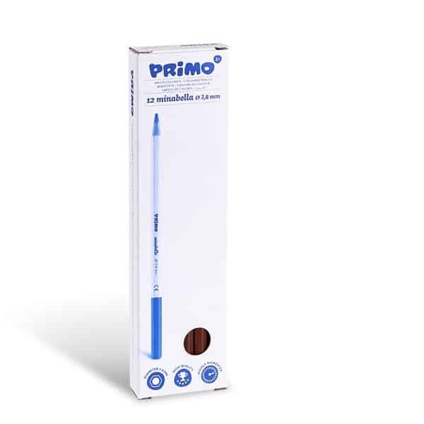 Pastelka PRIMO MINABELLA, 1ks, lakovaná, hnědá siena pálená, (č. barvy 730)