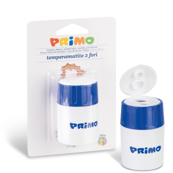Ořezavátko PRIMO, dvojité, kartonový blistr