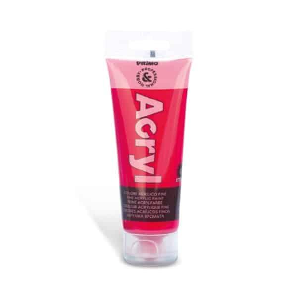 Akrylová barva PRIMO, tuba 75 ml, tm. růžová (č. barvy 301)