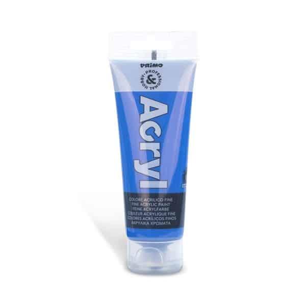 Akrylová barva PRIMO, tuba 75 ml, modrá kobaltová (č. barvy 540)