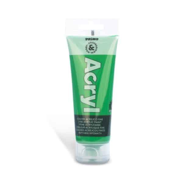 Akrylová barva PRIMO, tuba 75 ml, zelená (č. barvy 610)