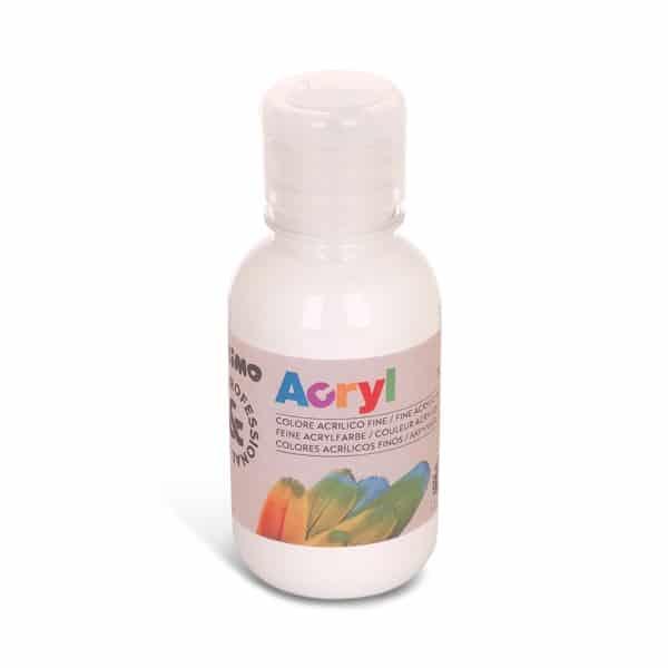 Akrylová barva PRIMO 125 ml, bílá (č. barvy 100)