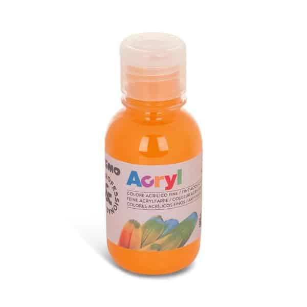 Akrylová barva PRIMO 125 ml, oranžová (č. barvy 250)