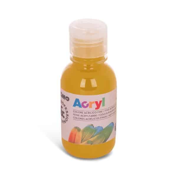 Akrylová barva PRIMO 125 ml, okrová (č. barvy 270)