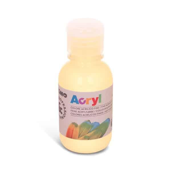 Akrylová barva PRIMO 125 ml, žlutá slonová kost (č. barvy 291)