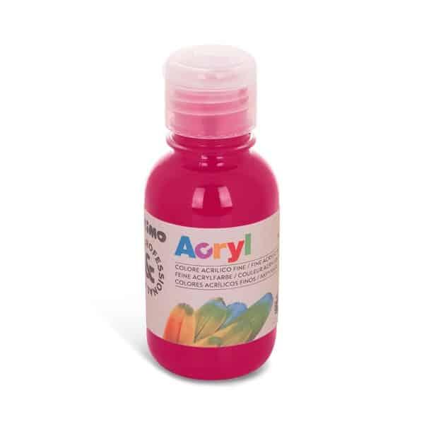 Akrylová barva PRIMO 125 ml, tm. růžová (č. barvy 301)