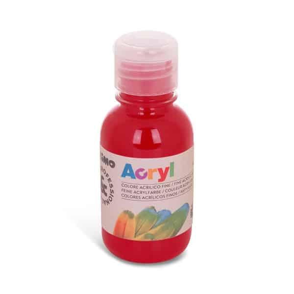Akrylová barva PRIMO 125 ml, karmínově červená  (č. barvy 310)