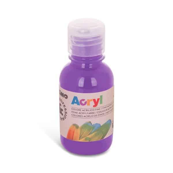 Akrylová barva PRIMO 125 ml, fialová (č. barvy 400)