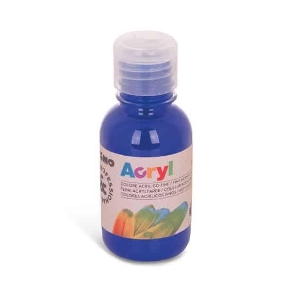 Akrylová barva PRIMO 125 ml, modrá (č. barvy 500)