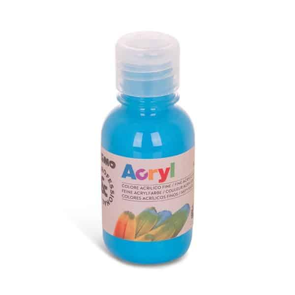 Akrylová barva PRIMO 125 ml, sv. modrá (č. barvy 501)