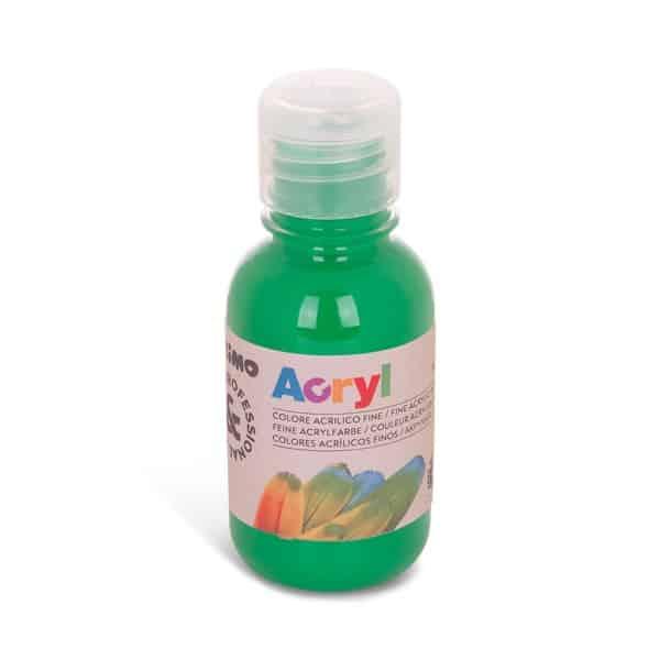 Akrylová barva PRIMO 125 ml, zelená (č. barvy 610)