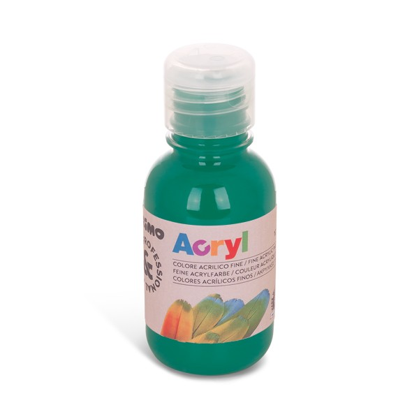 Akrylová barva PRIMO 125 ml, smaragdová (č. barvy 641)