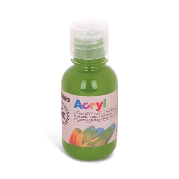 Akrylová barva PRIMO 125 ml, zelená olivová (č. barvy 665)