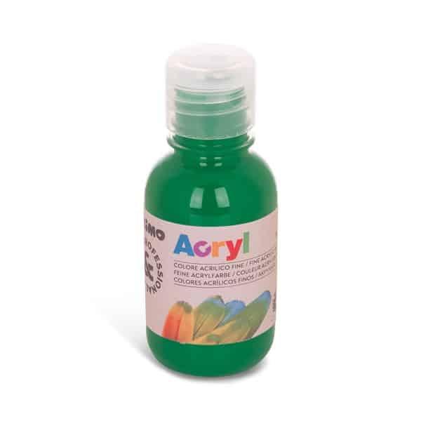 Akrylová barva PRIMO 125 ml, listová zelená (č. barvy 690)
