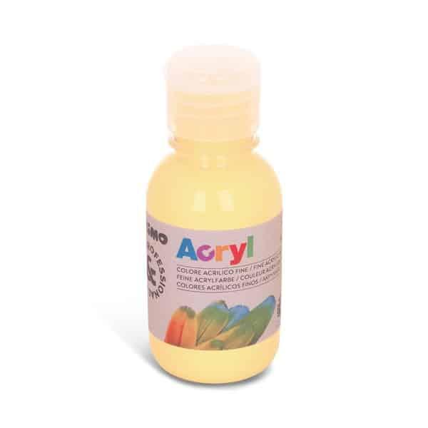 Akrylová barva PRIMO 125 ml, krémová (č. barvy 703)