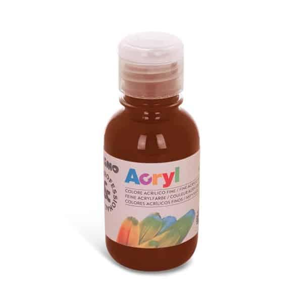 Akrylová barva PRIMO 125 ml, hnědá umbra přírodní (č. barvy 745)