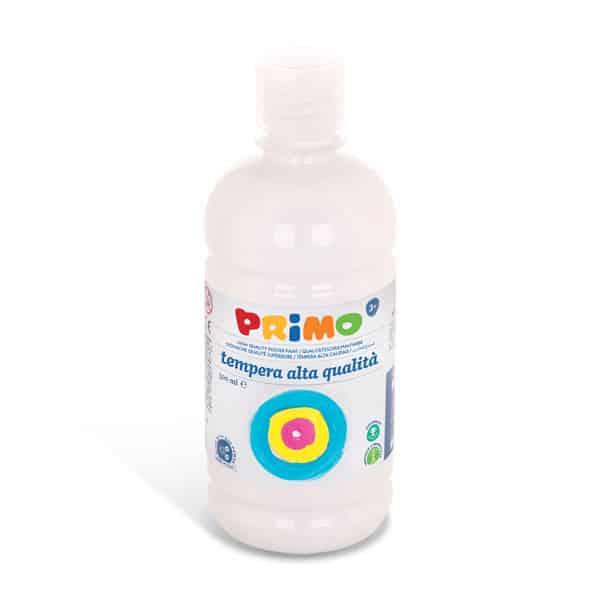 Temperová barva PRIMO 500 ml, bílá (č. barvy 100)