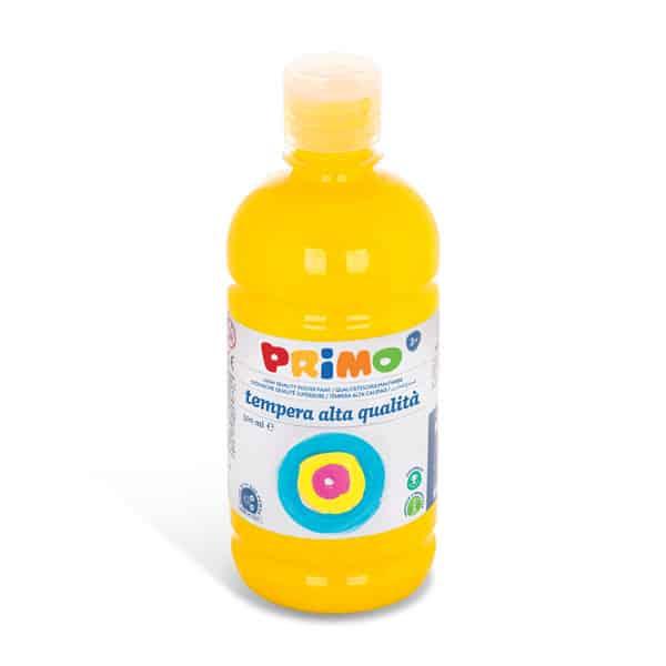 Temperová barva PRIMO 500 ml, žlutá (č. barvy 201)