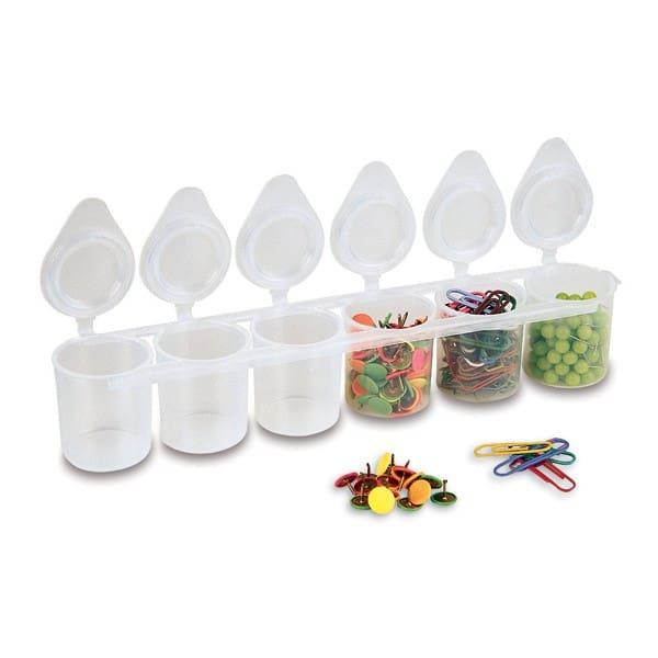 Kelímek plastový PRIMO, kazeta 6 x 25 ml