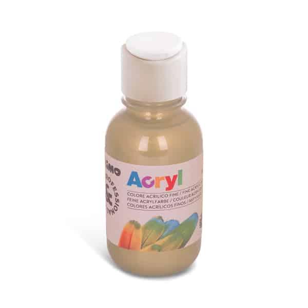 Akrylová barva PRIMO 125 ml, bronzová (č. barvy 940)