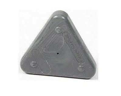 Voskovka trojboká Magic Triangle pastel šedá (č. barvy 810)