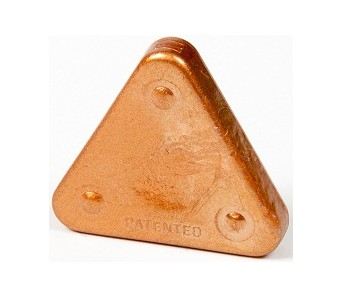 Voskovka trojboká Magic Triangle metalická bronzová (č. barvy 930M)