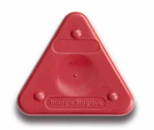 Voskovka trojboká Magic Triangle pastel bordo (č. barvy 320)