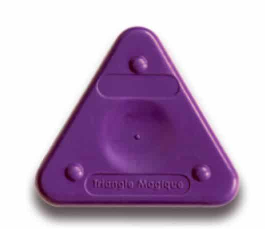 Voskovka trojboká Magic Triangle basic fialová (č. barvy 400)