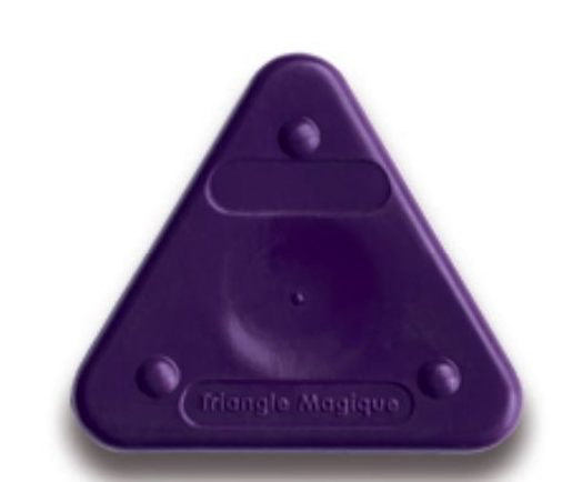 Voskovka trojboká Magic Triangle neon tm. fialová (č. barvy 410)
