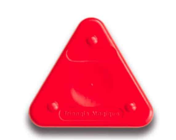 Voskovka trojboká Magic Triangle neon rumělková (č. barvy 300)