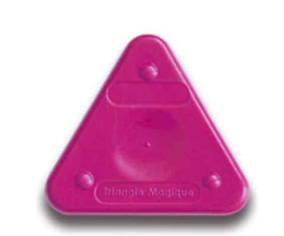 Voskovka trojboká Magic Triangle neon červenorudá (č. barvy 301)