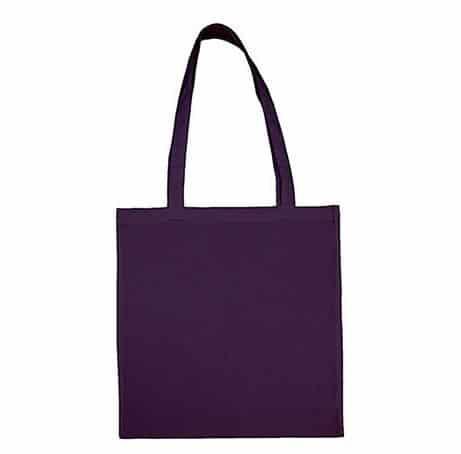 Taška bavlněná, tm. fialová (Fas Purple)